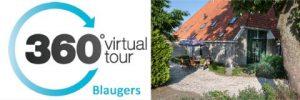 360 graden foto van vakantiehuis Blaugers