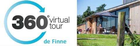"360 graden virtuele tour vakantiehuis ""de Finne"""