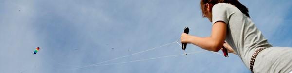 vliegeren bij luxe vakantiehuis friesland