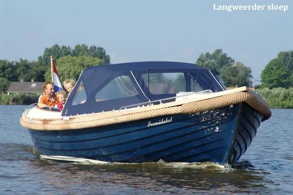 Vakantiehuis met boot huren