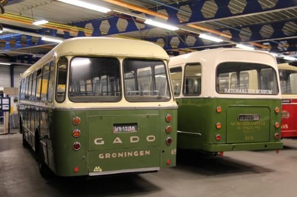 Bus museum Ouwsterhaule hoe het vroeger was
