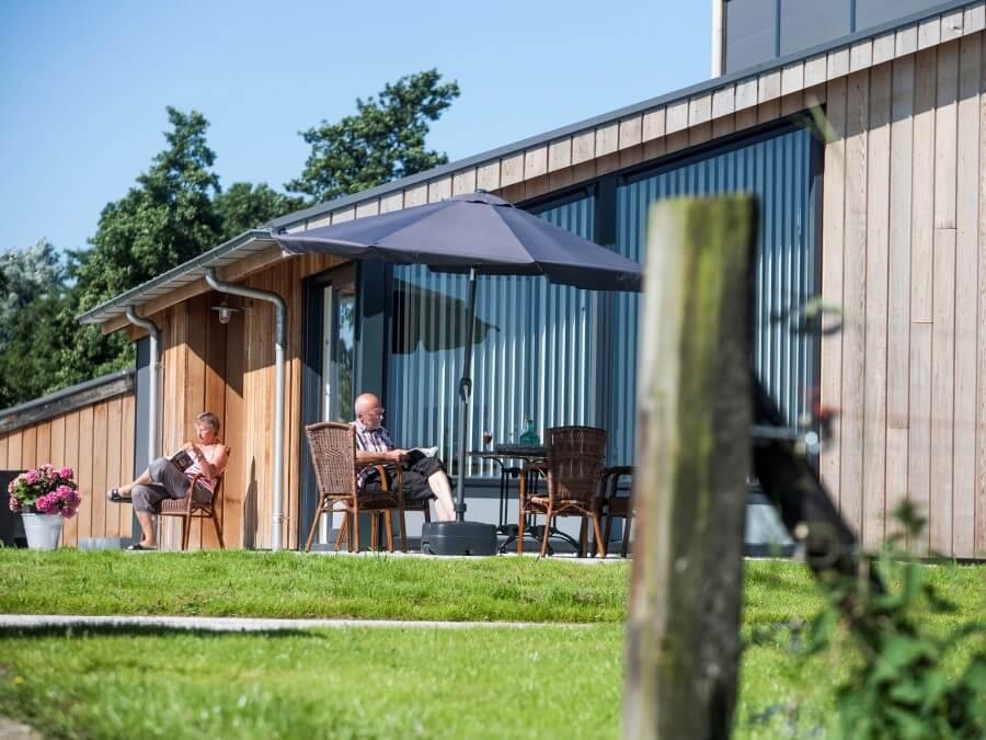 Luxe vakantiehuis in Friesland