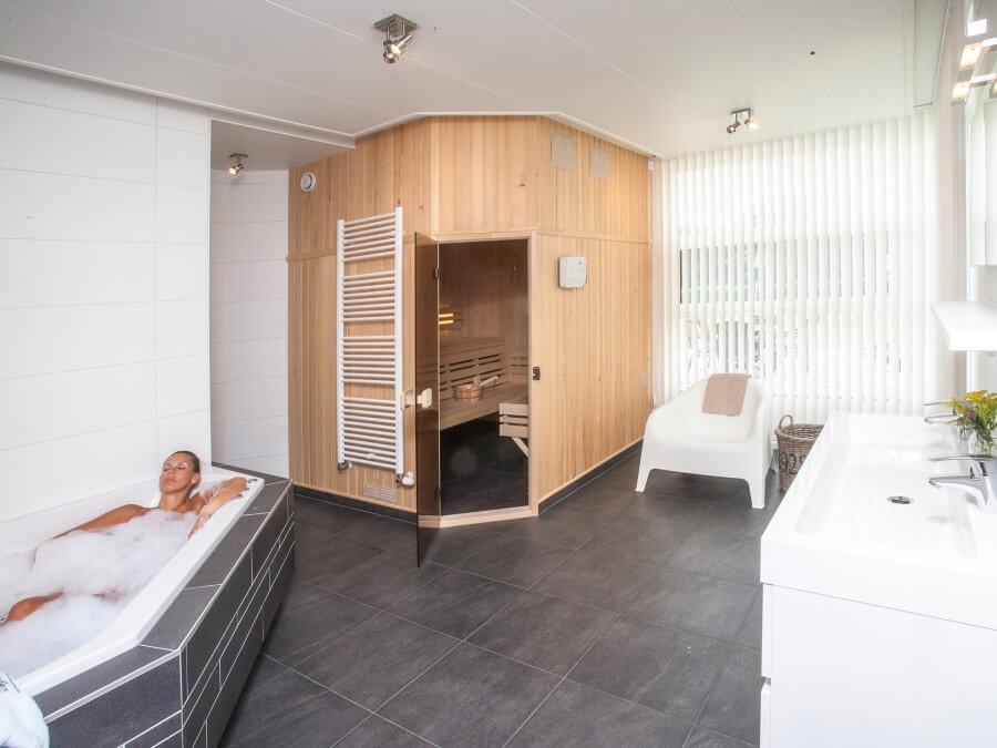 Sauna is een weldaad voor lichaam en geest
