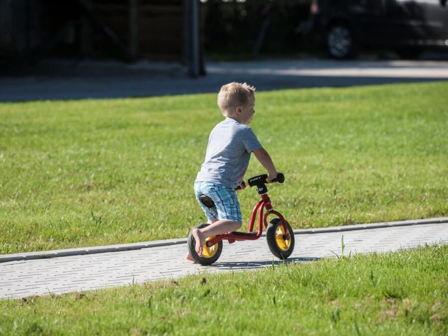 Skelter of fietsparcour voor kleine en grotere kinderen
