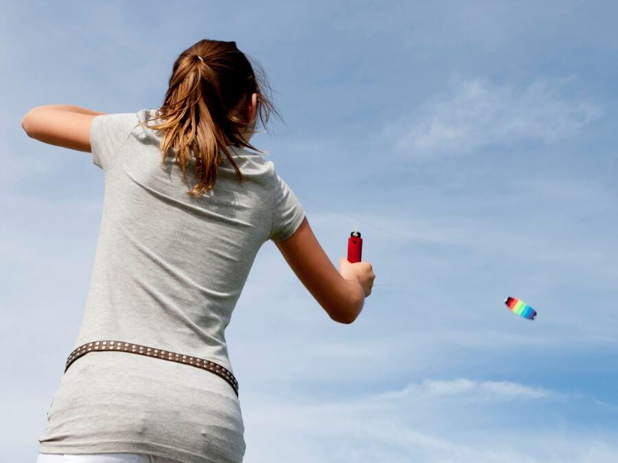Vliegeren of voetballen ruimte genoeg voor vele buitenspelen