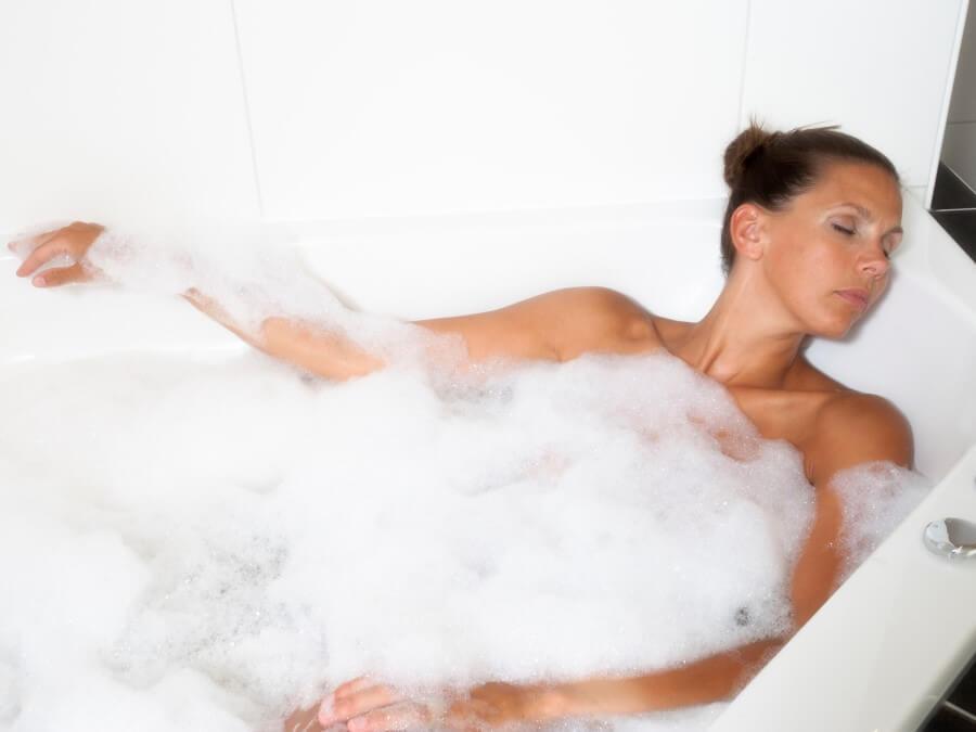 Baden in uw eigen bubbelbad