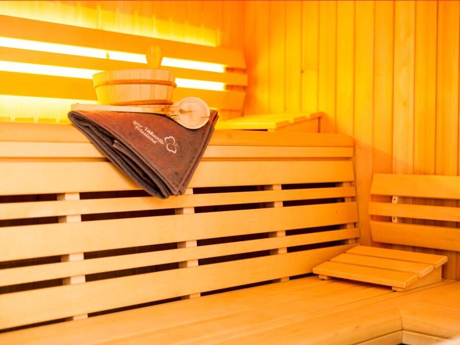 Heerlijk genieten in sauna of infra-rood sauna