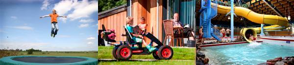 Buiten zijn bij Vakantiehuis Friesland