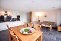 Ferienhaus Küche und Esszimmer