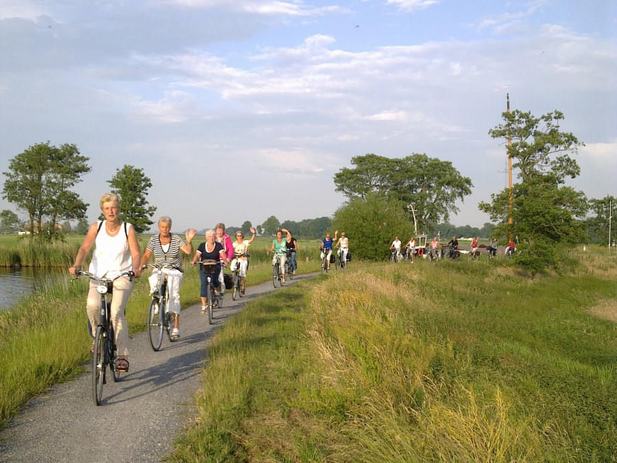 Fietsen rond de Friese meren