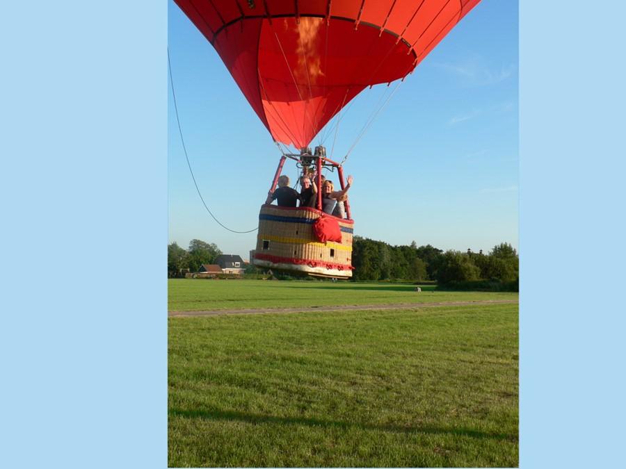 Vakantiewoning Friesland om met je ballon op te stijgen