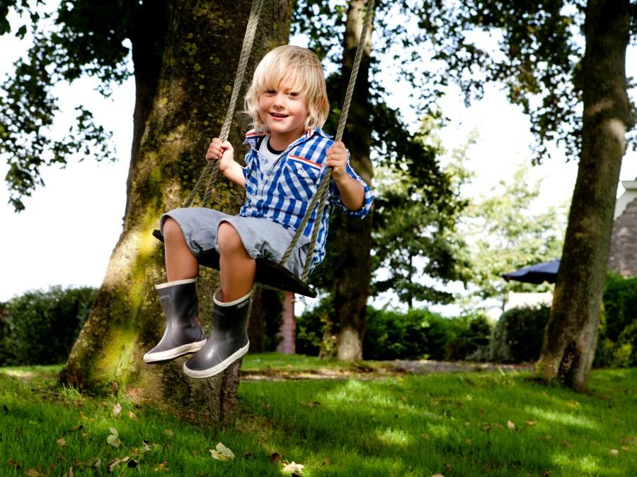 boomschommel wel 5 meter hoog