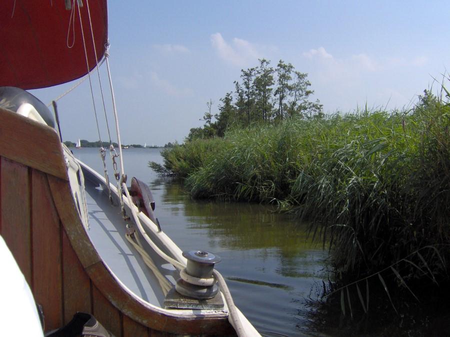 de friese meren om heerlijk met een tjalk te varen