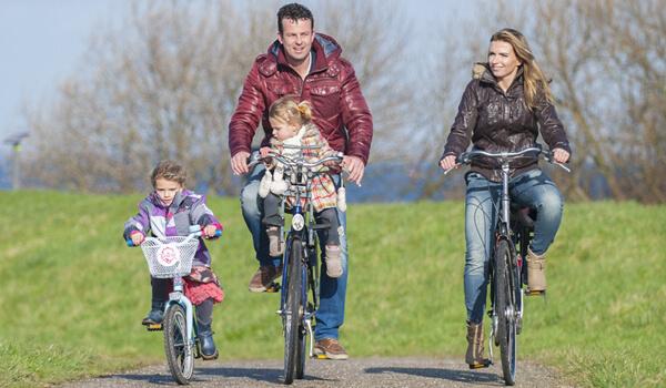 Radfahren rund um Luxe Vakantie Friesland