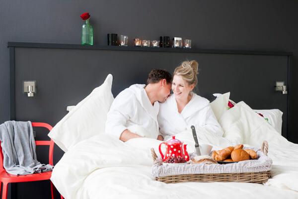 Romantisch overnachten op een prachtige locatie