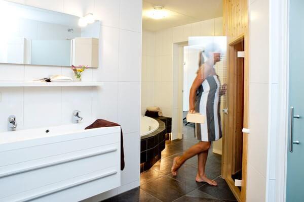 Vakantiehuis met sauna in Friesland