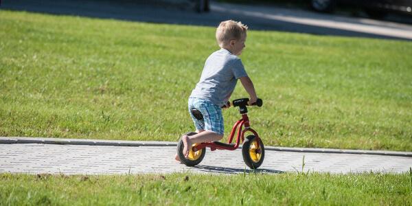 Deze vakantiewoning Friesland, de ideale plek op fietsen te leren